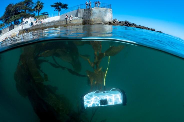 Dron submarino *Trident*, cortesía de OpenROV