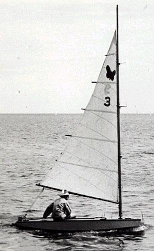 El Flutterby, segundo barco en la clase