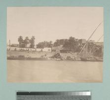 Astillero en el Nilo (c. 1865)