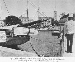 Puerto de Bridgetown, Islas Barbados (1909)