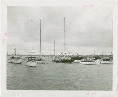 Yates de lujo en Nueva York (c. 1940)