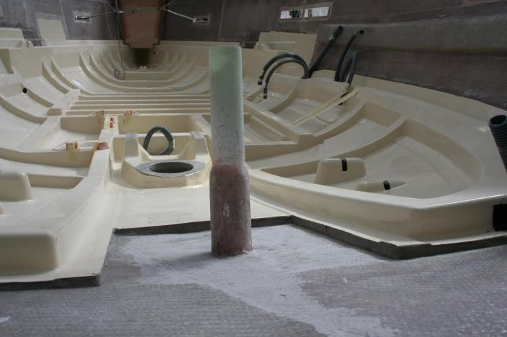 Detalles constructivos de Dufour sailboats